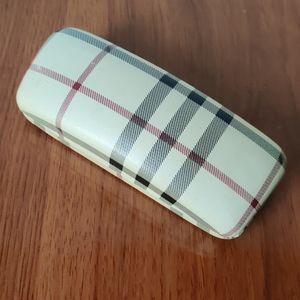Burberry glasses case